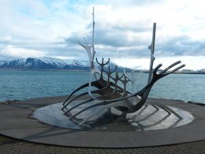 Reykjavik sun voyager viking ship