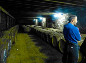 ancient cellar of bowmore distillery