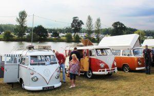 Camper Calling - VW campers Ragley Hall