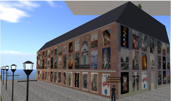 Second Life building