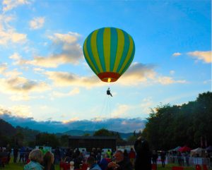 Vangollen Festival - hot air balloon