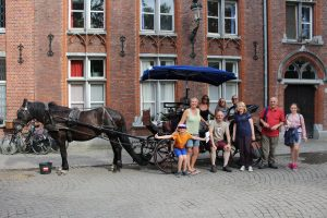 Horse and Cart tour of Bruges