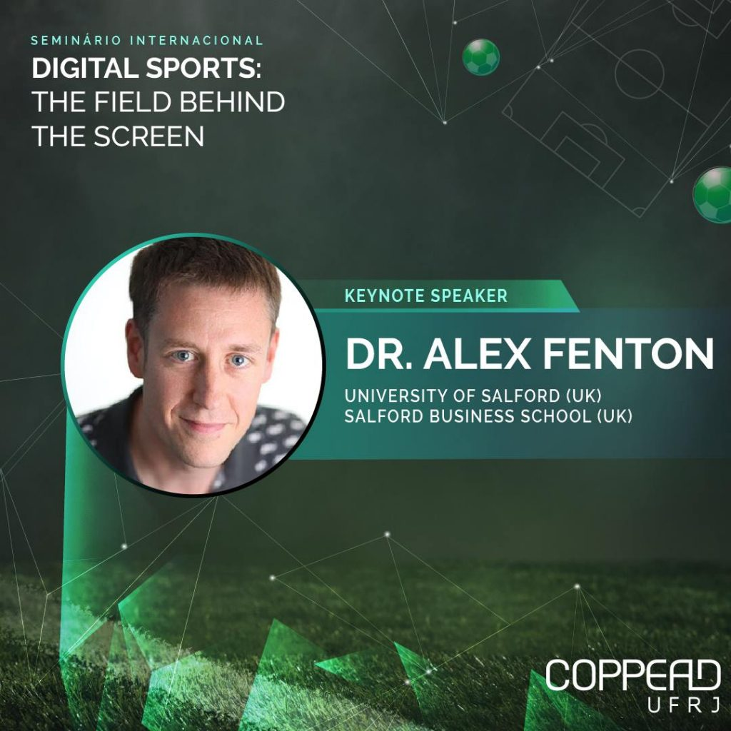 Dr Alex Fenton, Digital Sport and fan engagement keynote
