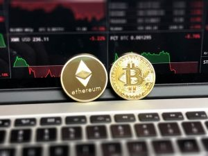 Bitcoin and Ethereum cryptocurrencies
